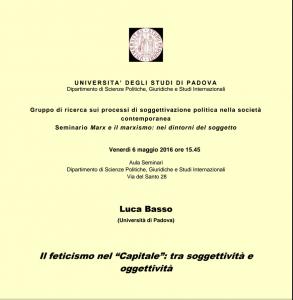 Locandina Basso